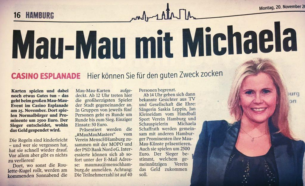 Michaela Schffrath mau mau hamburg casino esplanade