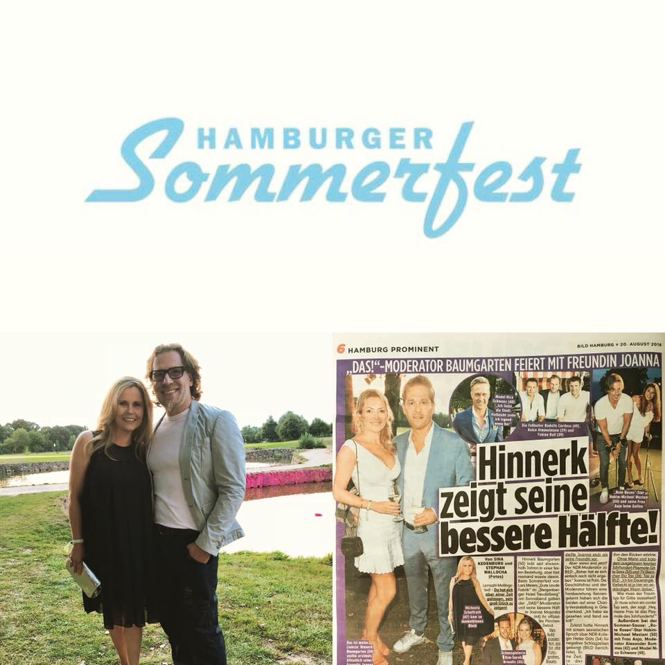 Michaela Schaffrath Sommerfest Hamburg