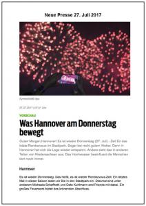 Michaela Schaffrath Neue Presse