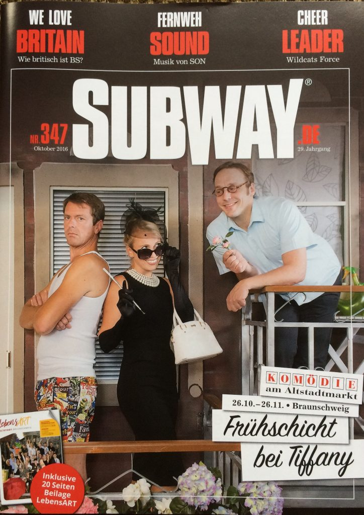 Michaela Schaffrath Subway