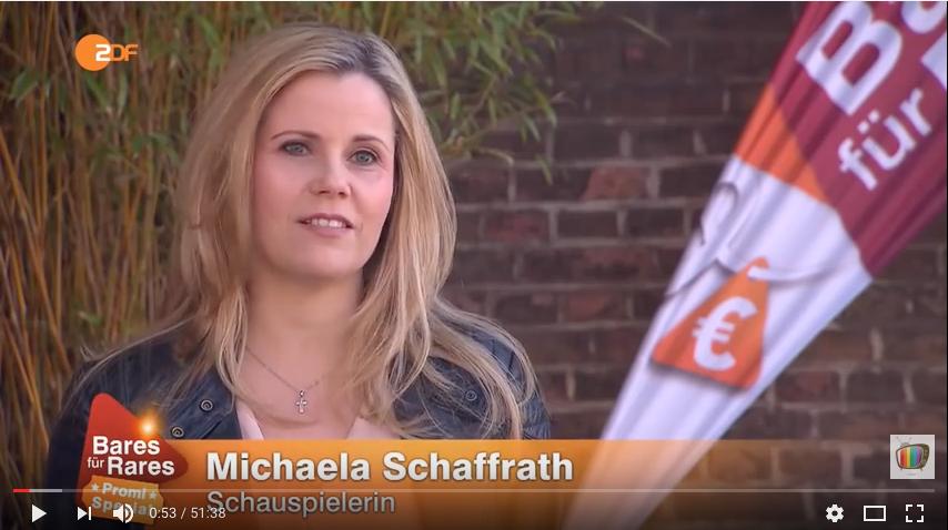 Michaela Schaffrath Bares für Rares
