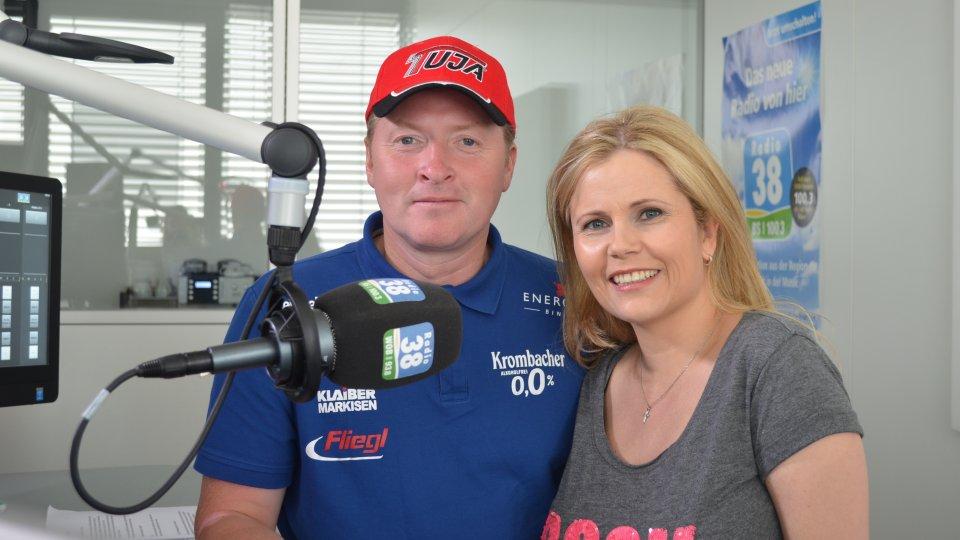 Michaela Schaffrath Radio38 Joey Kelly